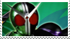 Kamen Rider W Cyclone Joker stamp by Fireshire