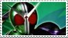 Kamen Rider W Cyclone Joker stamp by Fireshire