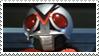 Kamen Rider X stamp by Fireshire