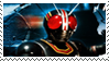 Kamen Rider Black stamp by Fireshire