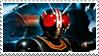Kamen Rider Black stamp by Fireshire
