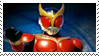Kamen Rider Kuuga Mighty Form Stamp by Fireshire
