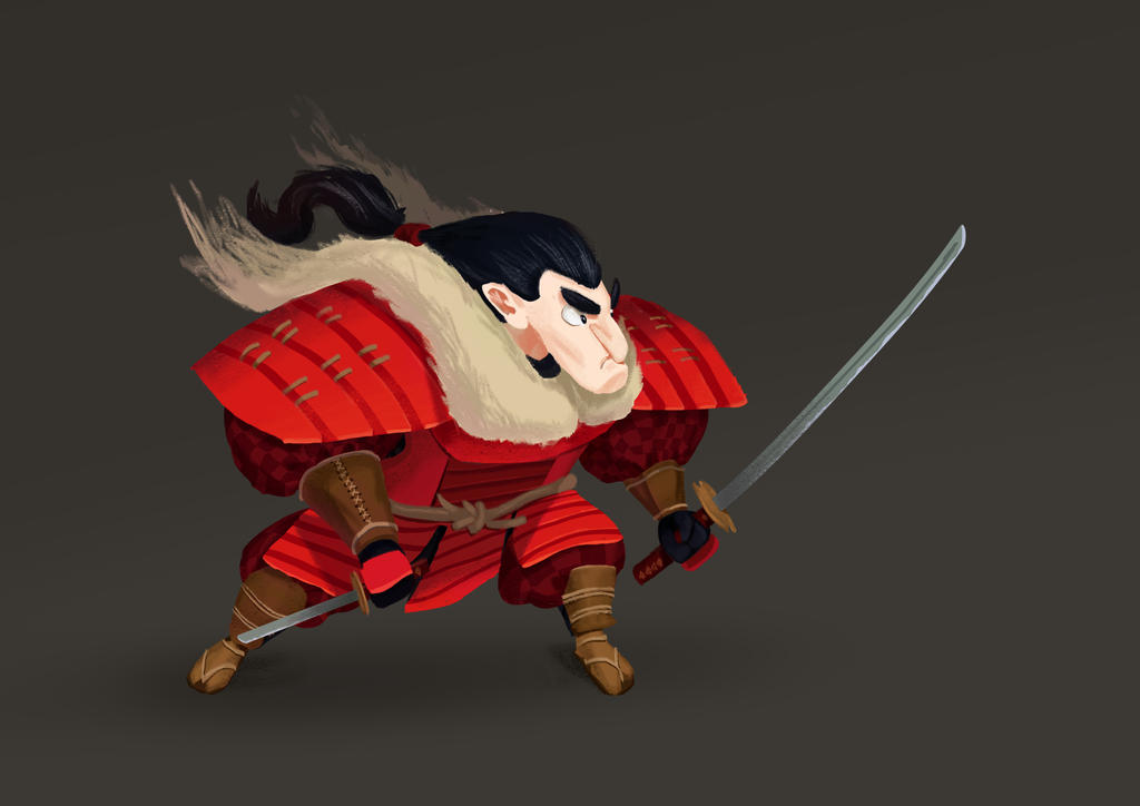 RED Samurai by Aprilyus