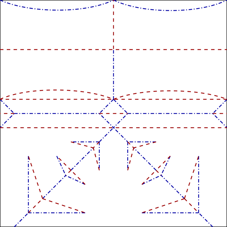 Origami trojan helmet crease pattern by cahoonas on deviantart origami trojan helmet crease pattern by cahoonas jeuxipadfo Image collections