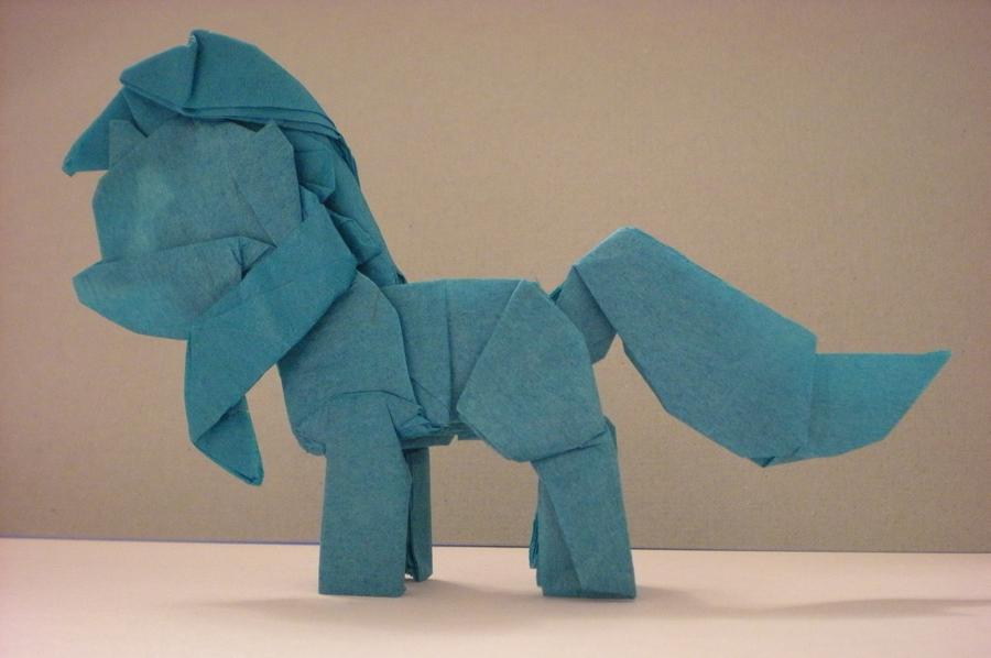 My Little Origami Pony - Lyra by Cahoonas