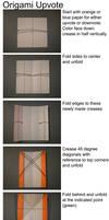 Origami Upvote Arrows