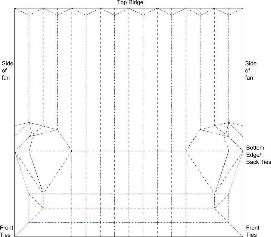 Origami Fan Crease Pattern By Cahoonas On Deviantart