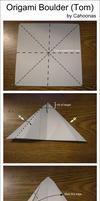 Origami Rock (Tom) Diagram