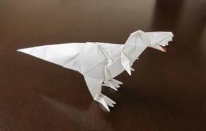 Tyrannosaurus Rex [Fumiaki Kawahata] by Cahoonas