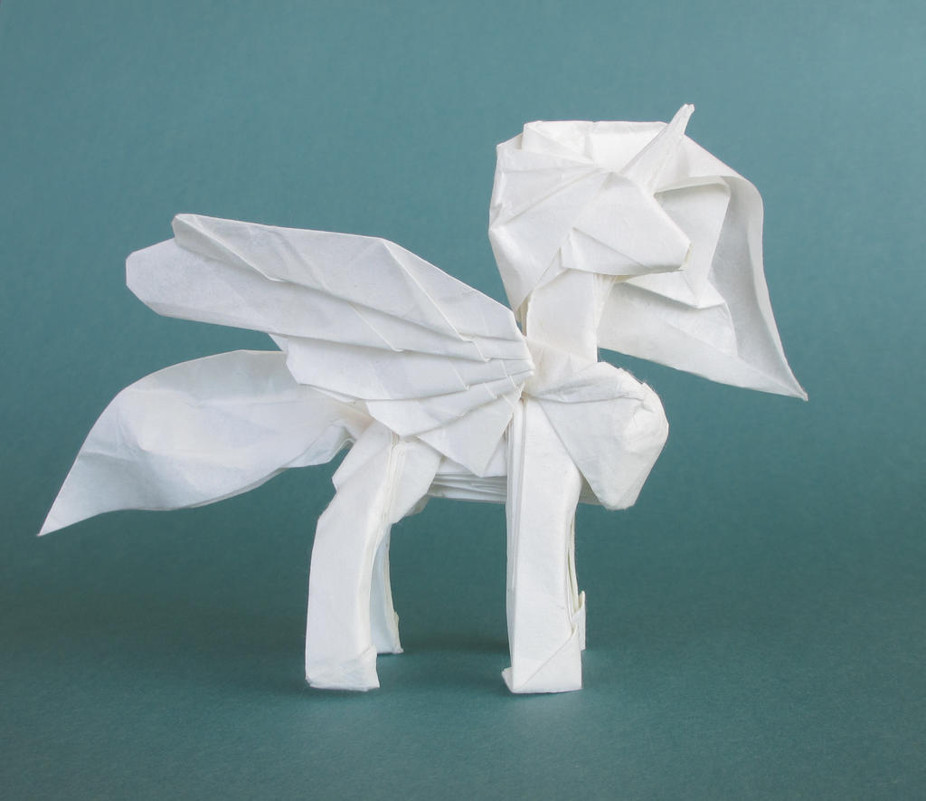 Easy Origami White Paper