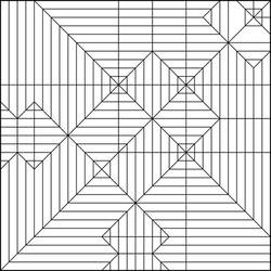 Toothless Crease Pattern by Cahoonas
