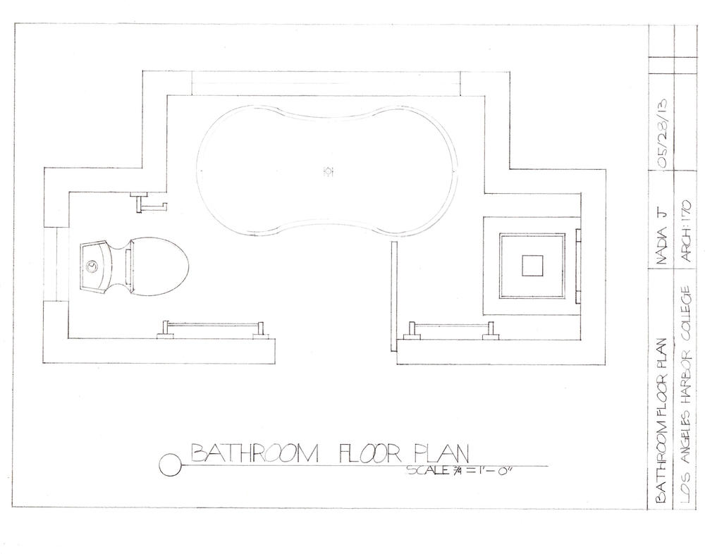 5 x 8 bathroom floor plan by tackygirl on deviantart for Small bathroom design 5 x 8