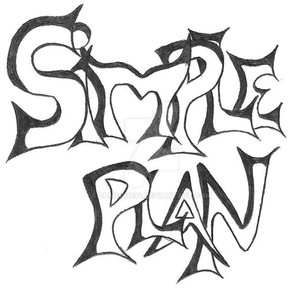 my 'Simple Plan' logo by dummy1234