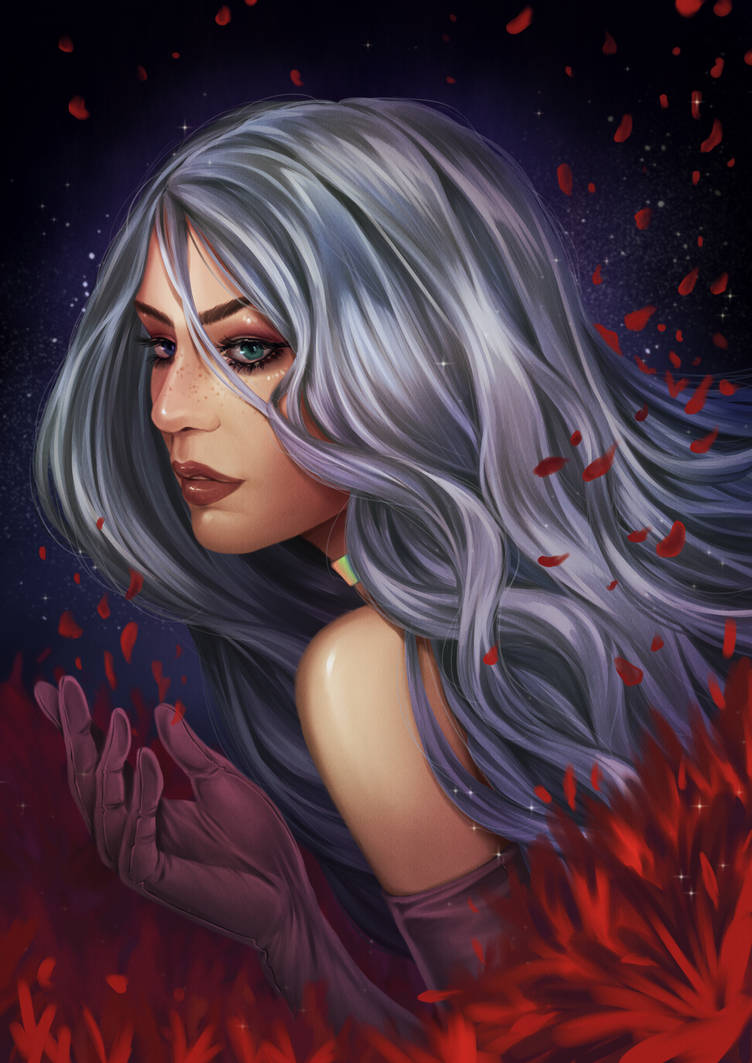 Megan Lewis/Mysterious Healer by ellenchain