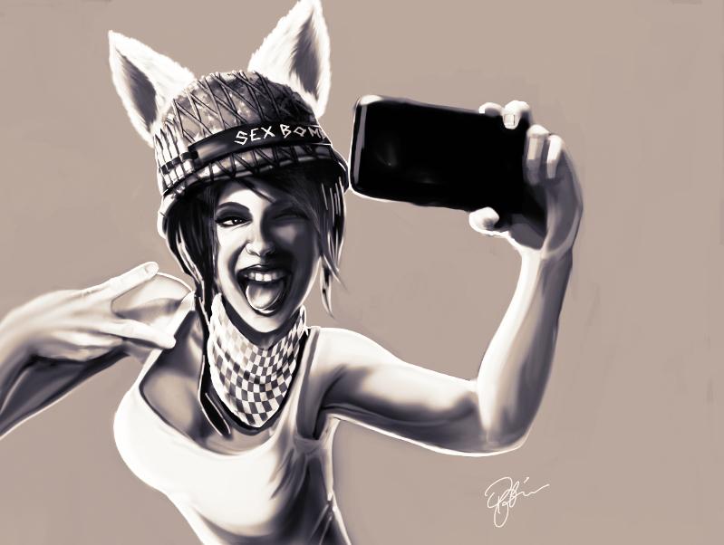 Selfie by P-F-Finnan