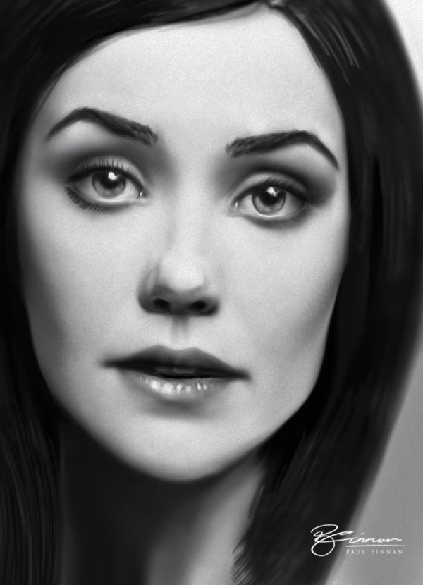 Megan Boone by P-F-Finnan