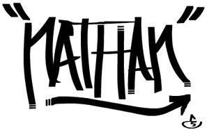 Graffiti name by Eponefive
