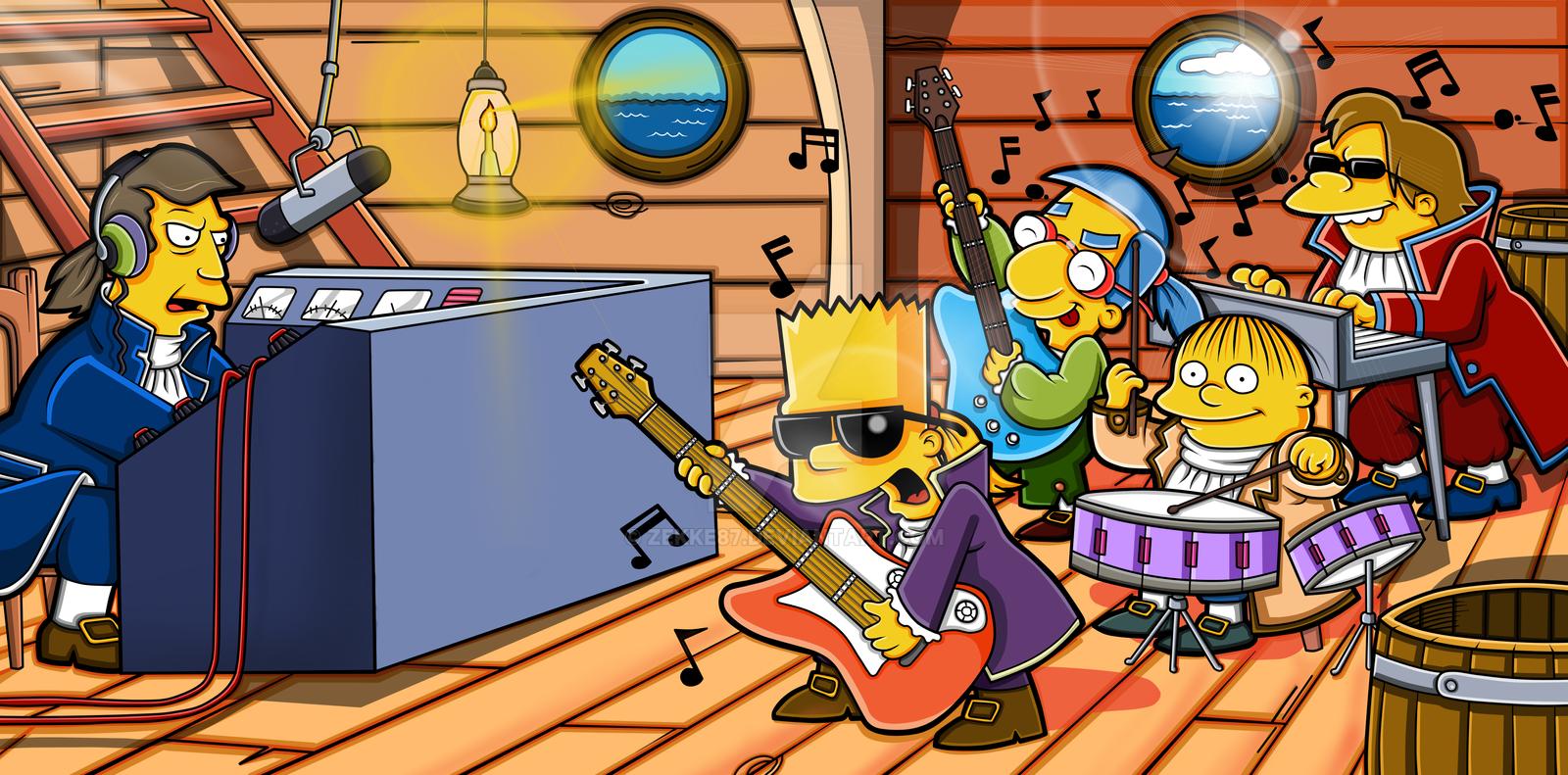 Simpsons by ZeKKe87