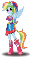 Rainbow Dash by DeannaPhantom13