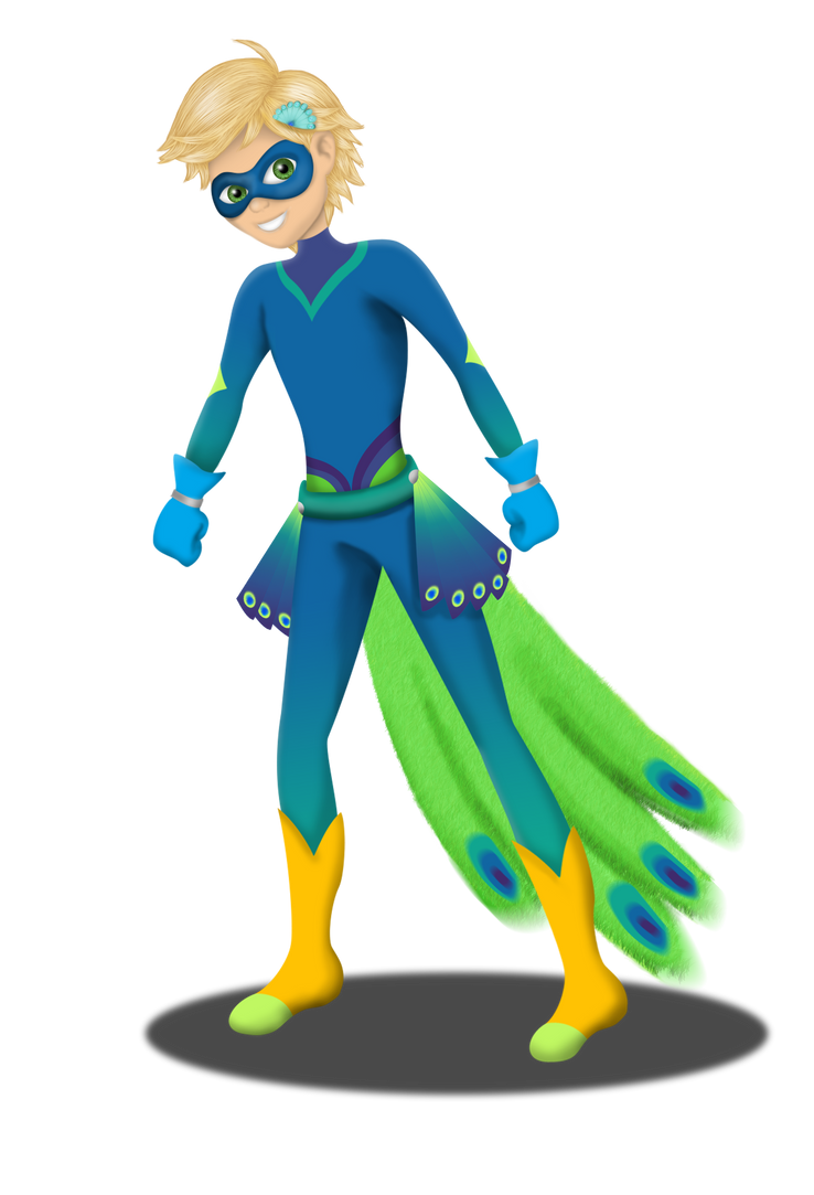 Peacock Adrien by DeannaPhantom13 on DeviantArt - photo#27