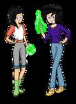 DP Next Gen: Rowena and Scarlet