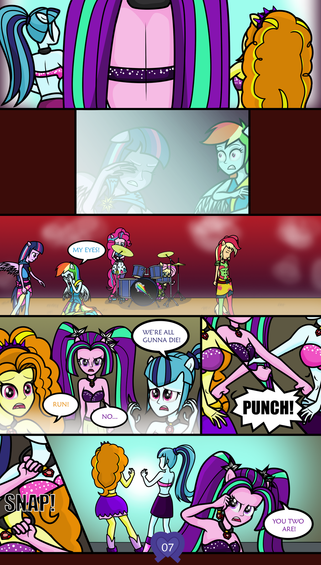 Equestrian City - Issue 0, Page 7 by DeannaPhantom13