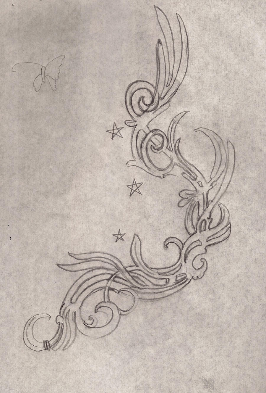 ankle art nouveau in pencil by posvibes on deviantart. Black Bedroom Furniture Sets. Home Design Ideas