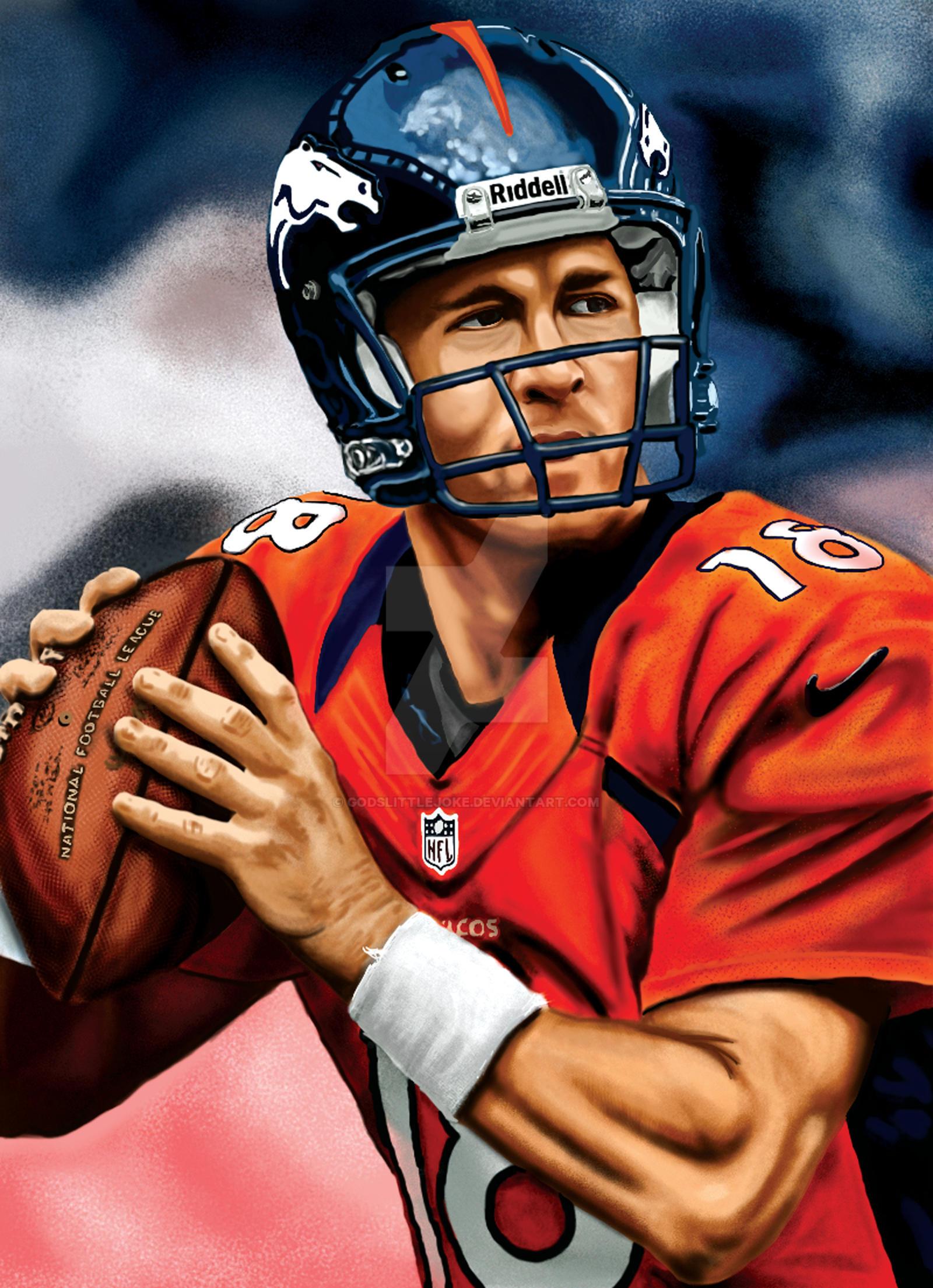 Peyton Manning by godslittlejoke
