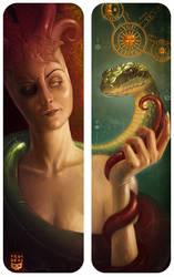 The Gnostic Serpent by Felideus