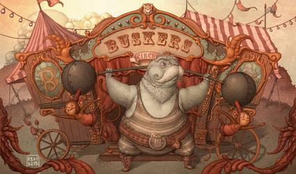 Buskers Circus by Felideus