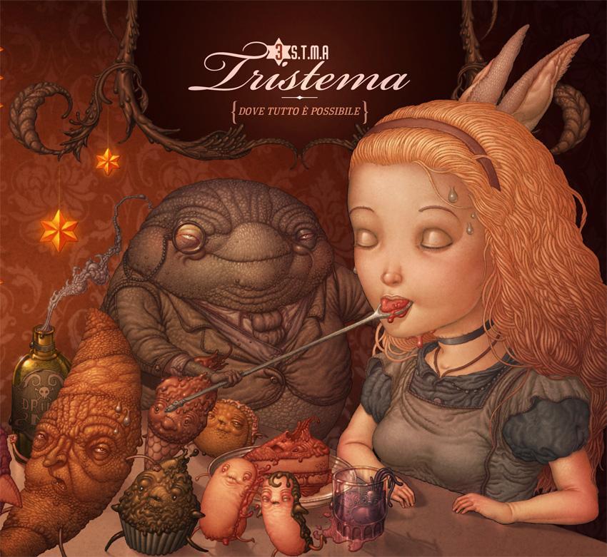 Tristema Cover (front) by Felideus