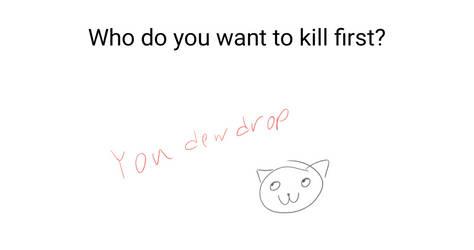 I WANNA KILL YOU (ask berry #2) by iamepic10