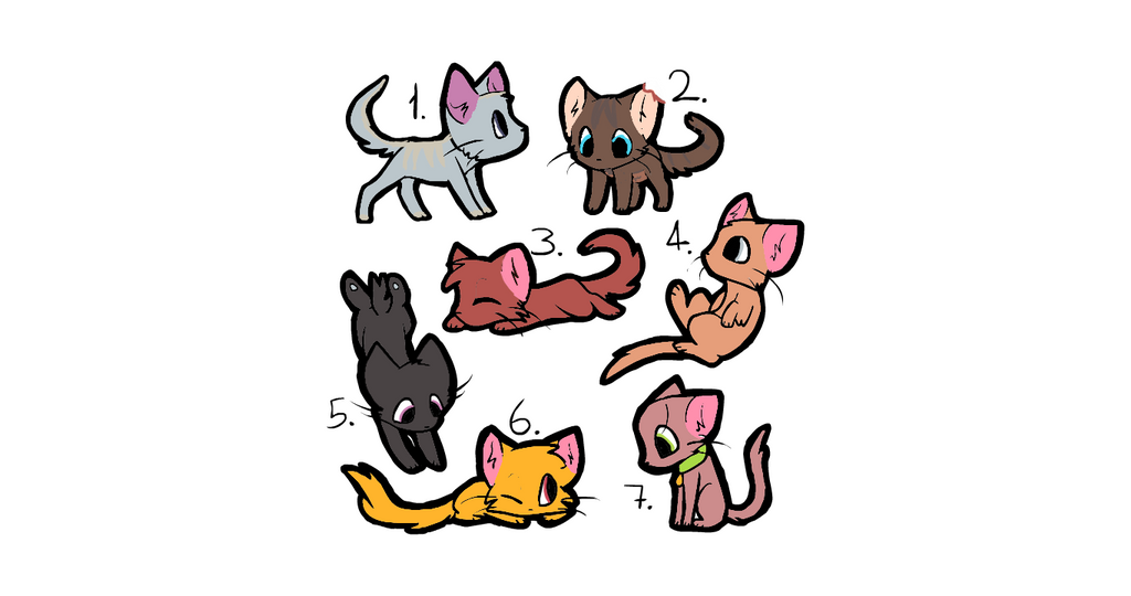 7 adopts (OPEN) by iamepic10