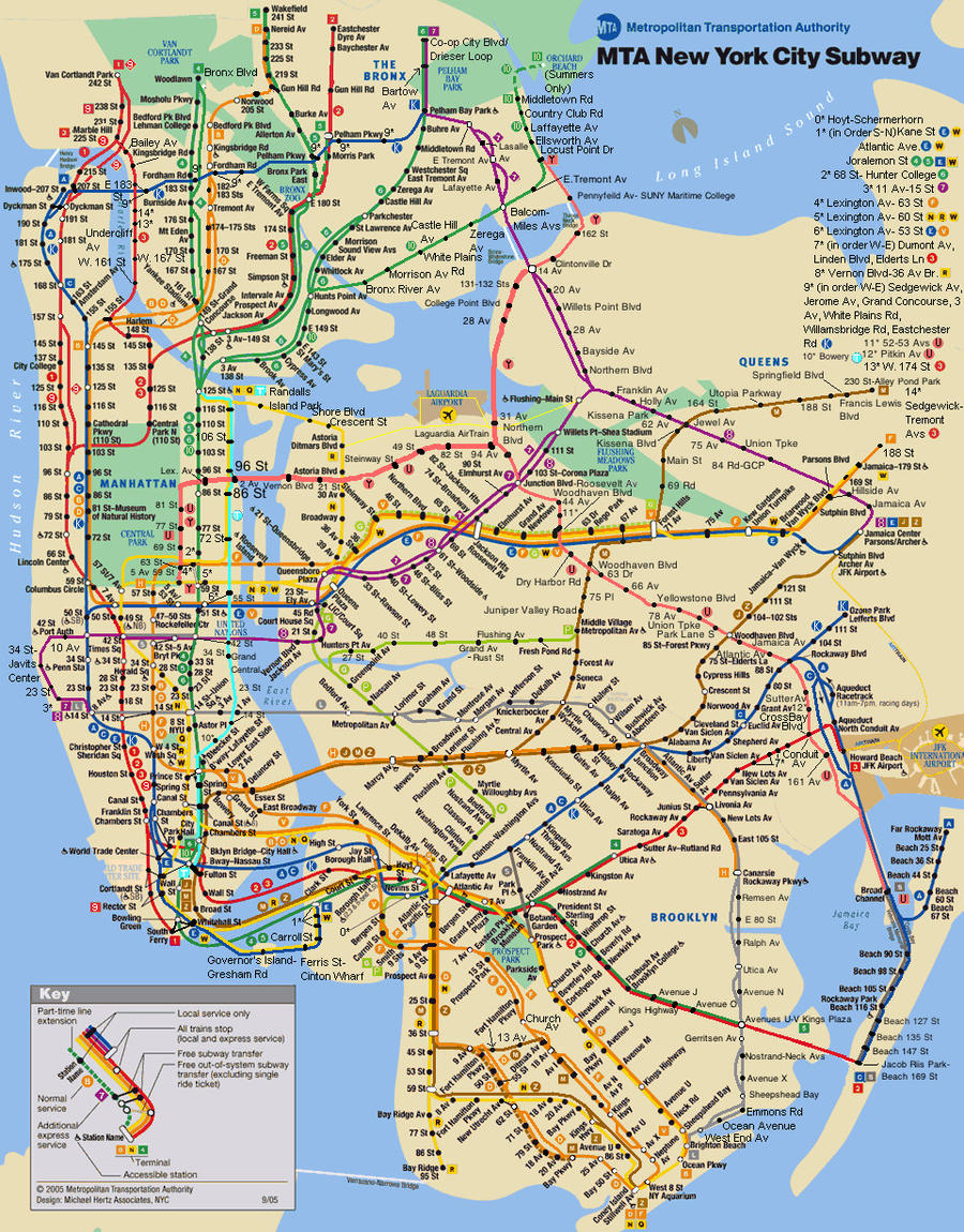 Mta bus map