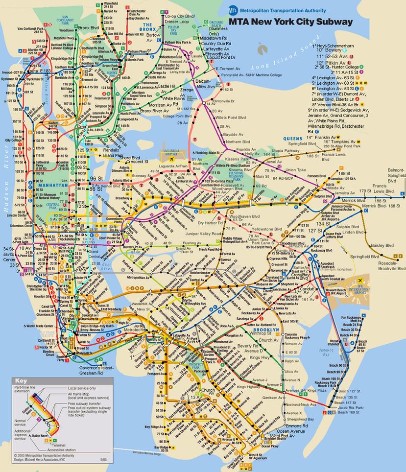 Image Gallery subway map