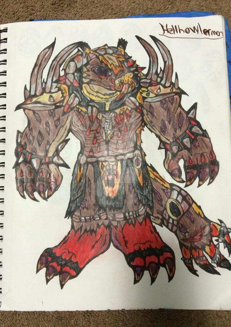 Master of Rage by Alphalionleader