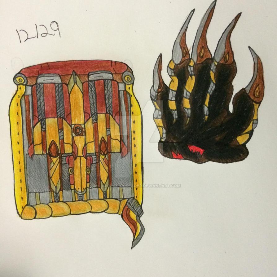Tarnished Spark Diagram #3 by Alphalionleader