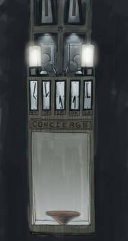 'Concierge Table' Set Design