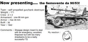 Italian tanks presentation: Semovente da 90/53