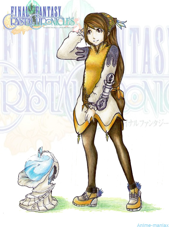 The Clavat is one of the four tribal groups from the Final Fantasy Crystal Chronicles series They are usually the games main characters