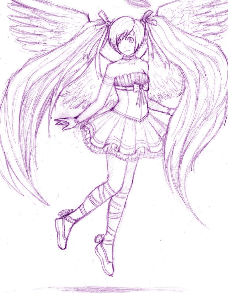 anime angel wip by stalaxy on deviantart