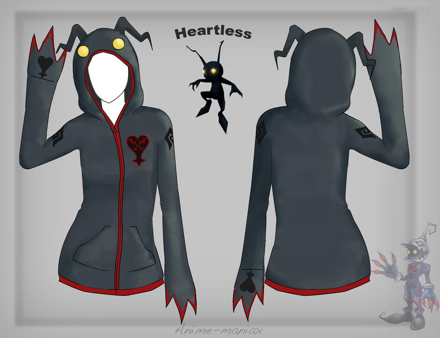Heartless Hoodie By Stalaxy On DeviantArt