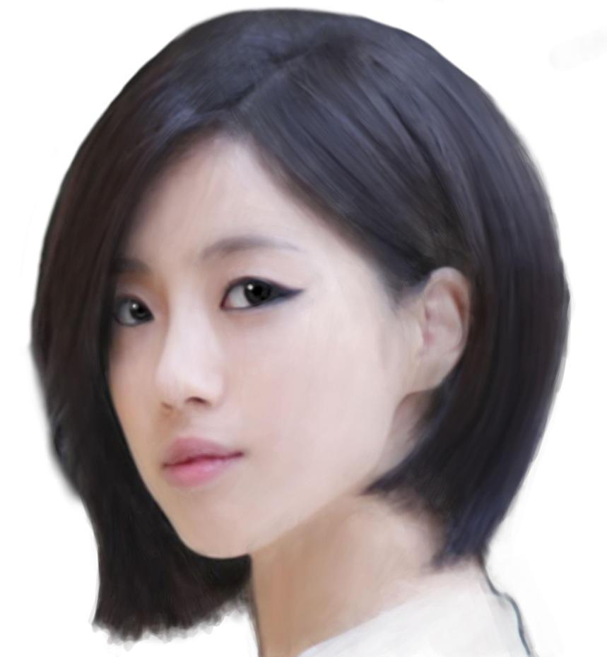 HAM EUN JUNG Short Hair Ver By Taiyoroku On DeviantArt
