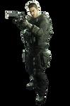 Resident Evil 7 Chris Redfield Ultra HD PNG Render