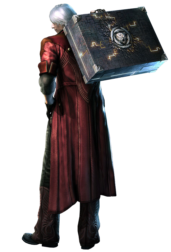 Devil May Cry 4 Dante Pandora Render PNG by GamingDeadTv