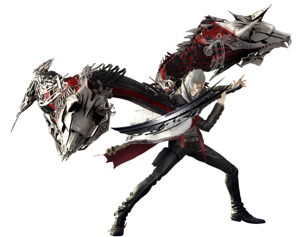 Code Vein Jack Rutherford Render PNG by GamingDeadTv