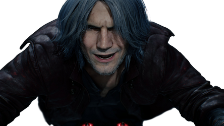 Devil May Cry 5 Teaser Dante PNG Render by GamingDeadTv