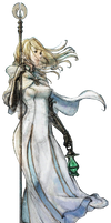 Octopath Traveler Ophilia Render PNG