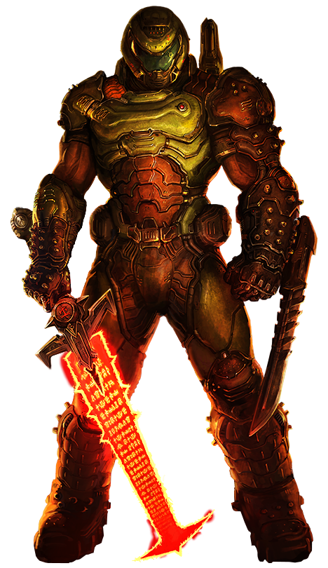 Doom Eternal Doom Slayer Art Render Png By Muraimustdie On Deviantart