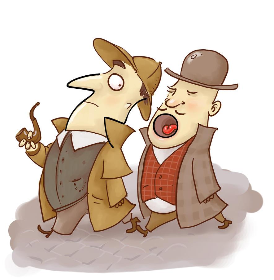 Sherlock Holmes And Dr.Watson By Sfepan ...